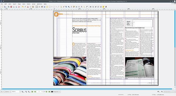 phần mềm thiết kế miễn phí Scribus