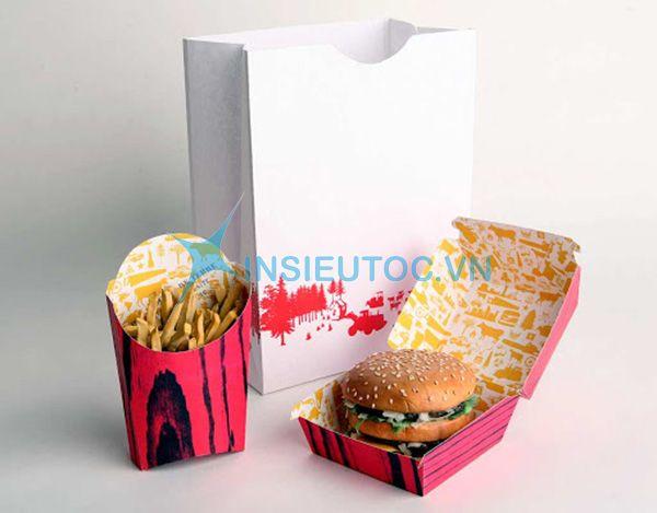 Túi giấy đựng hamburger
