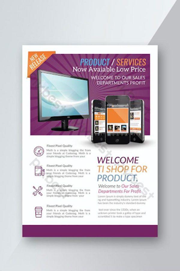 mẫu tờ rơi quảng cáo sản phẩm 5