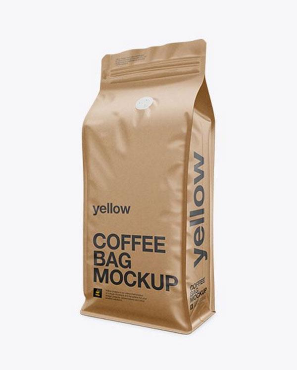 túi kraft đựng cà phê