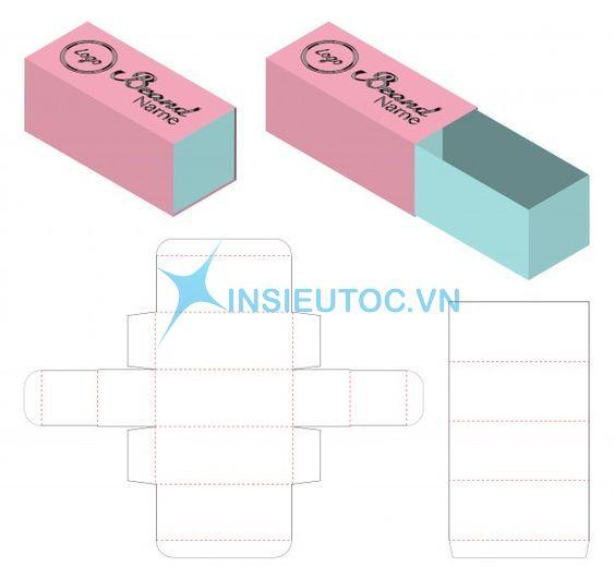 file psd hộp giấy