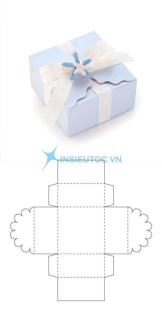 vector hộp giấy đẹp