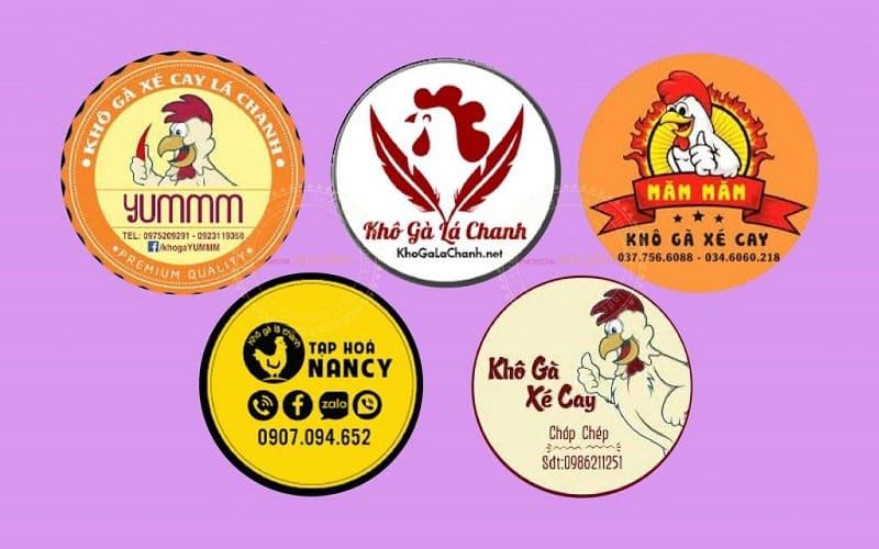 các mẫu tem nhãn sản phẩm