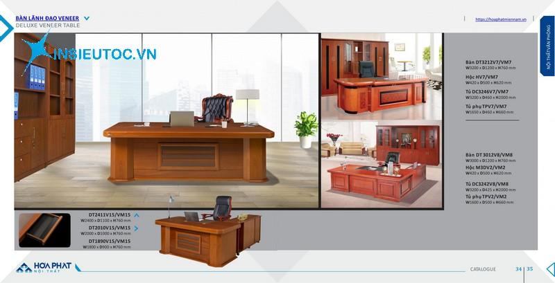 catalog bàn ghế văn phòng