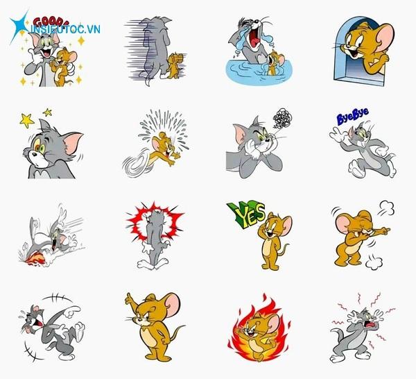 các mẫu sticker động vật đẹp - In Siêu Tốc