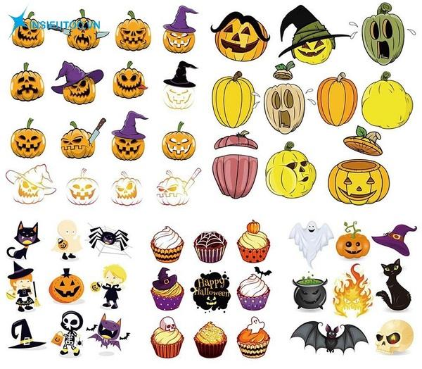 các mẫu sticker halloween đẹp - In Siêu Tốc