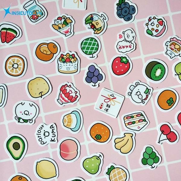 các mẫu sticker trái cây - In Siêu Tốc