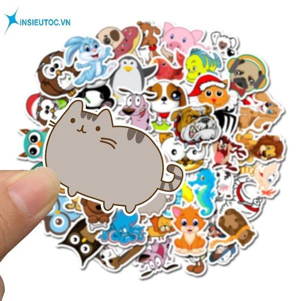 cách làm sticker cute - In Siêu Tốc