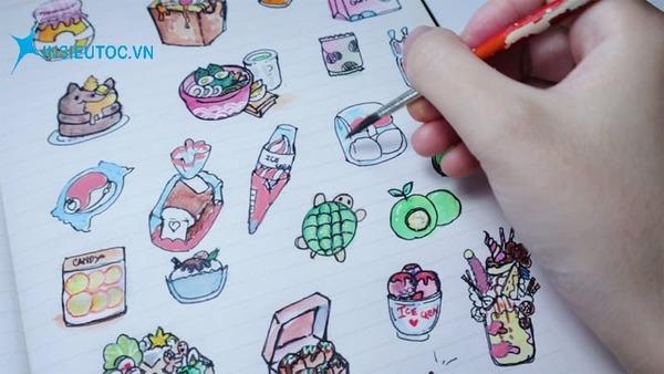 cách làm sticker handmade - In Siêu Tốc