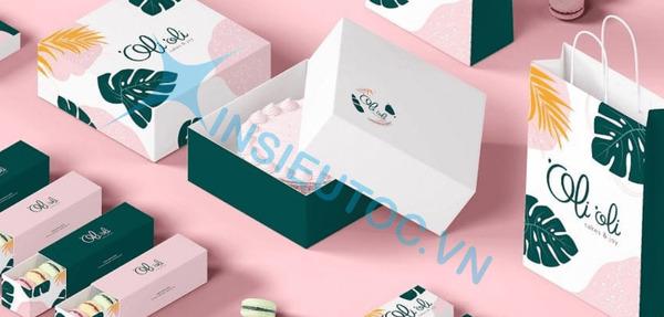 đặc điểm bao bì hộp giấy dễ thương - In Siêu Tốc