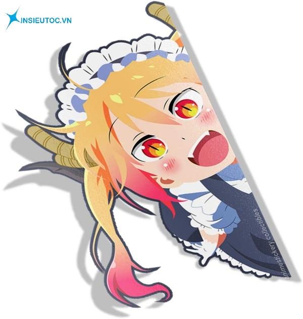 mẫu sticker công chúa đẹp - In Siêu Tốc