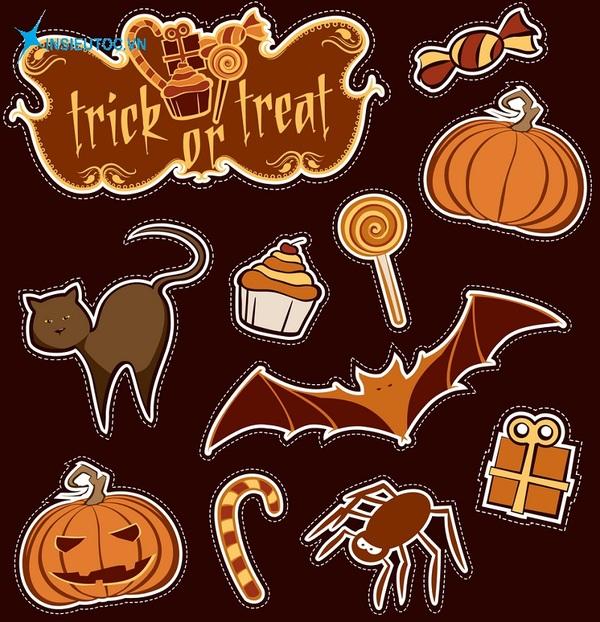 mẫu sticker halloween đẹp - In Siêu Tốc