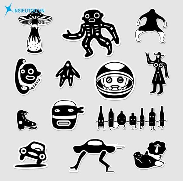 mẫu sticker người ngoài hành tinh đẹp - In Siêu Tốc