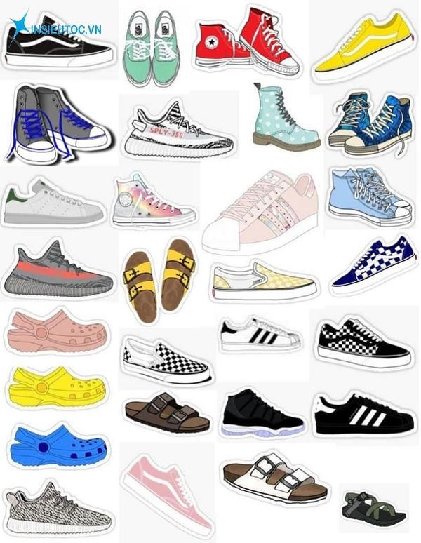 nhãn dán đựng giày là gì - In Siêu Tốc