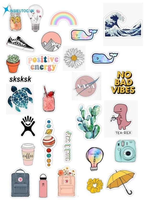 sticker nghĩa là gì - In Siêu Tốc