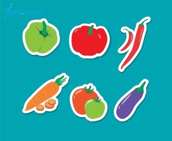 sticker rau củ là gì - In Siêu Tốc