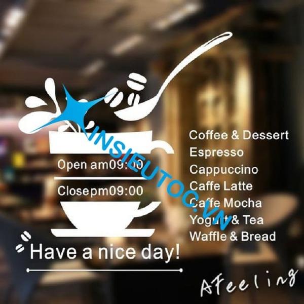 Tờ rơi quán cafe chứa menu - In Siêu Tốc