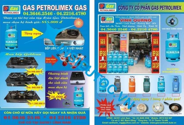 tờ rơi quảng cáo gas đẹp - In Siêu Tốc