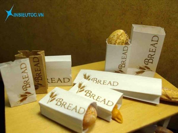 Hình ảnh túi giấy đựng thực phẩm - In Siêu Tốc