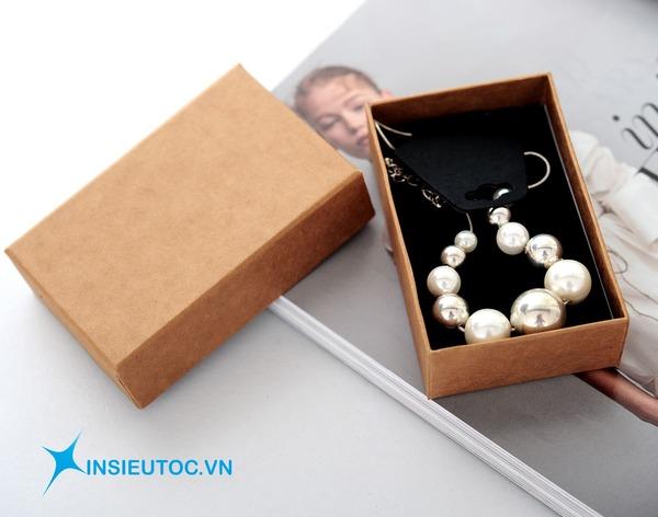hộp giấy kraft đựng trang sức - In Siêu Tốc