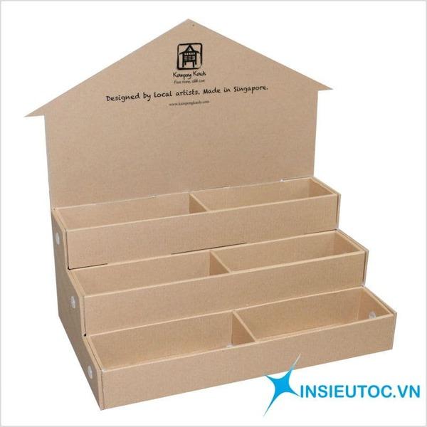 hộp giấy kraft trưng bày - In Siêu Tốc