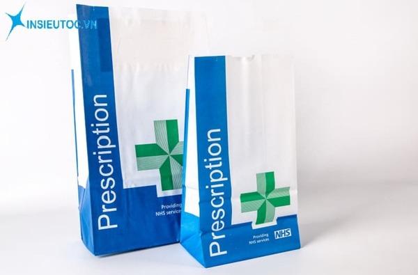 Túi giấy đựng thuốc - In Siêu Tốc