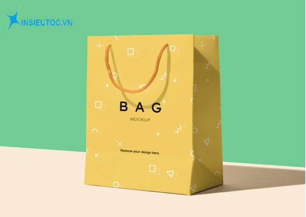 Túi giấy có quai thông dụng - In Siêu Tốc