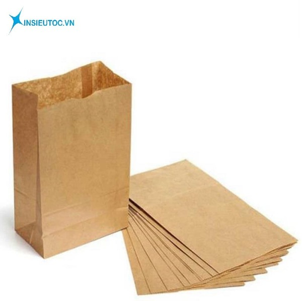 Túi giấy có thiết kế đẹp mắt - In Siêu Tốc