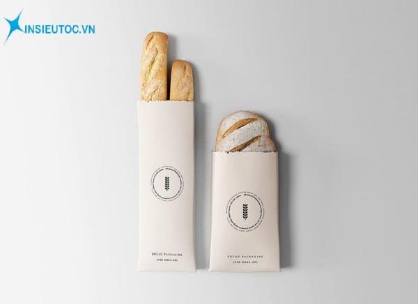 Túi giấy đựng bánh mì - In Siêu Tốc