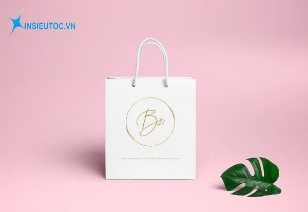 Túi giấy đựng mỹ phẩm đẹp - In Siêu Tốc