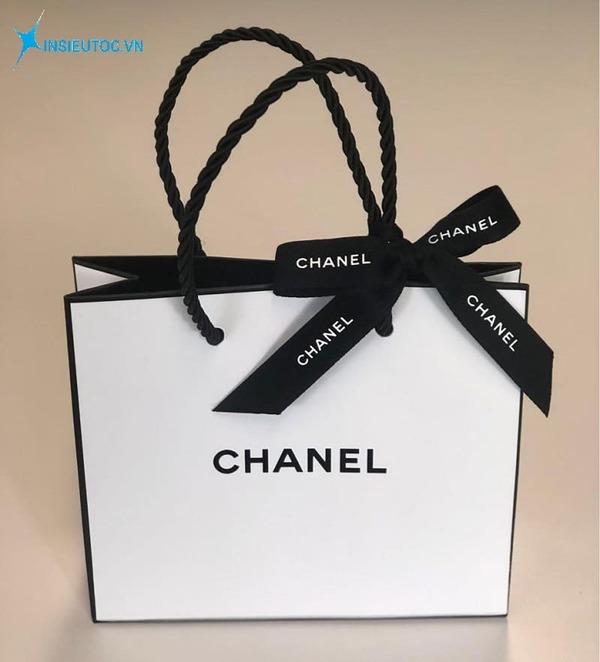 Túi giấy đựng quần áo chanel - In Siêu Tốc