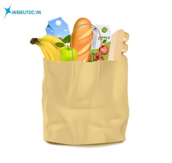 Túi giấy đựng thực phẩm - In Siêu Tốc
