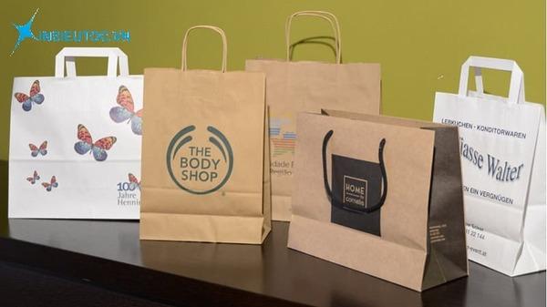 Túi giấy kraft bảo vệ môi trường - In Siêu Tốc