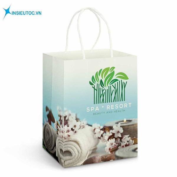 Túi giấy spa đựng mỹ phẩm - In Siêu Tốc