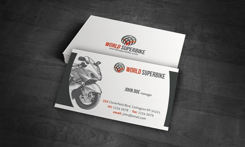 card visit hãng xe máy