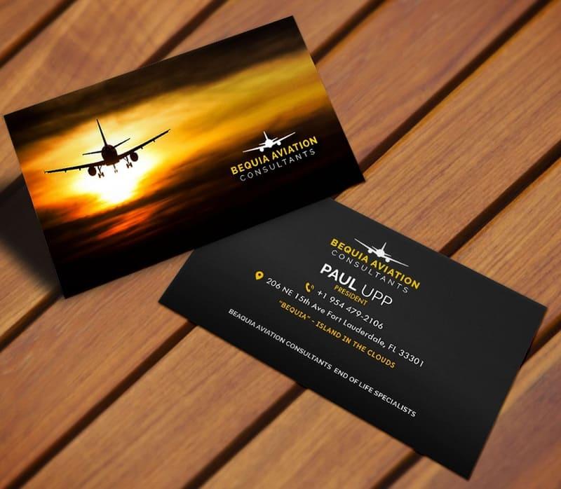 card visit ngành hàng không