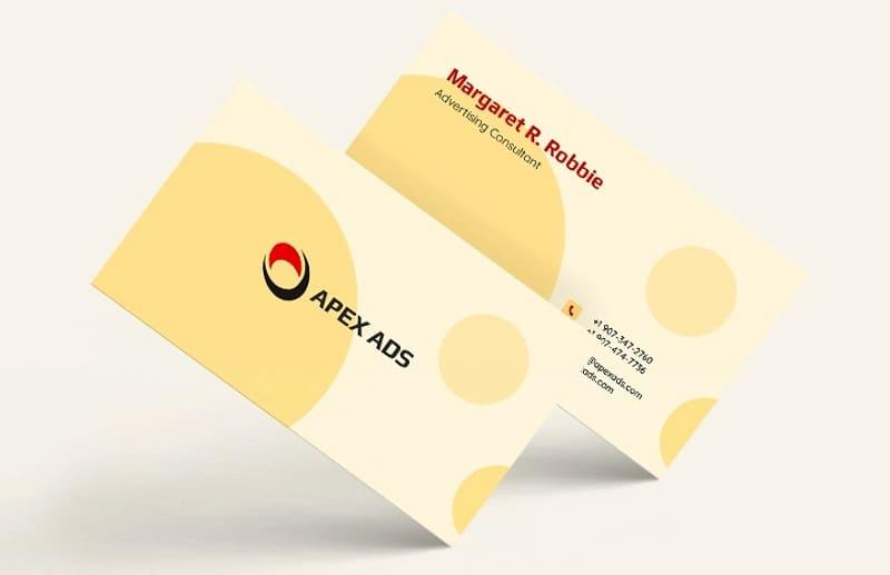 card visit ngành quảng cáo