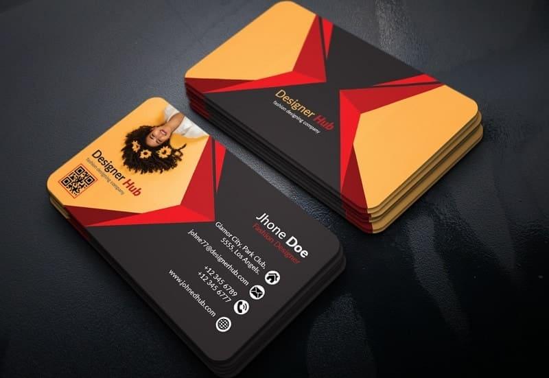 card visit nhà thiết kế thời trang
