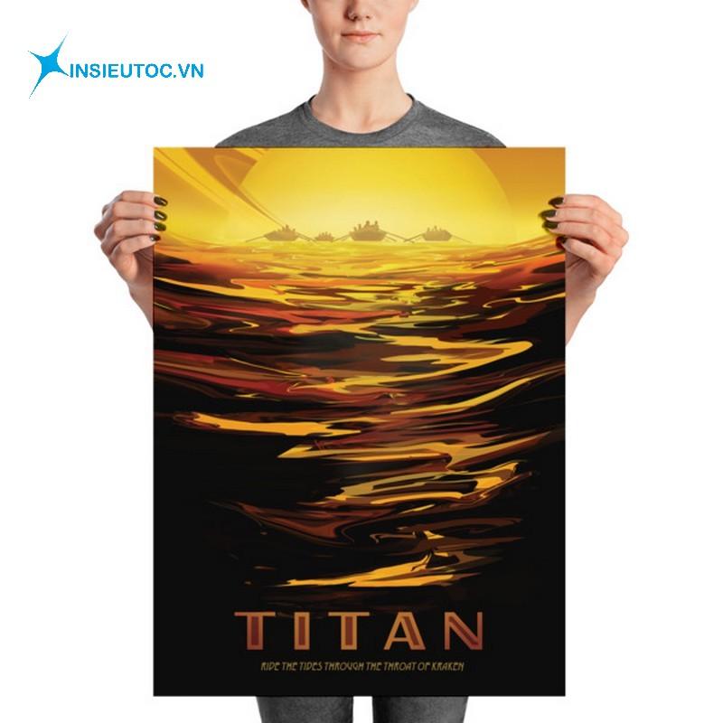 kích thước poster trung bình