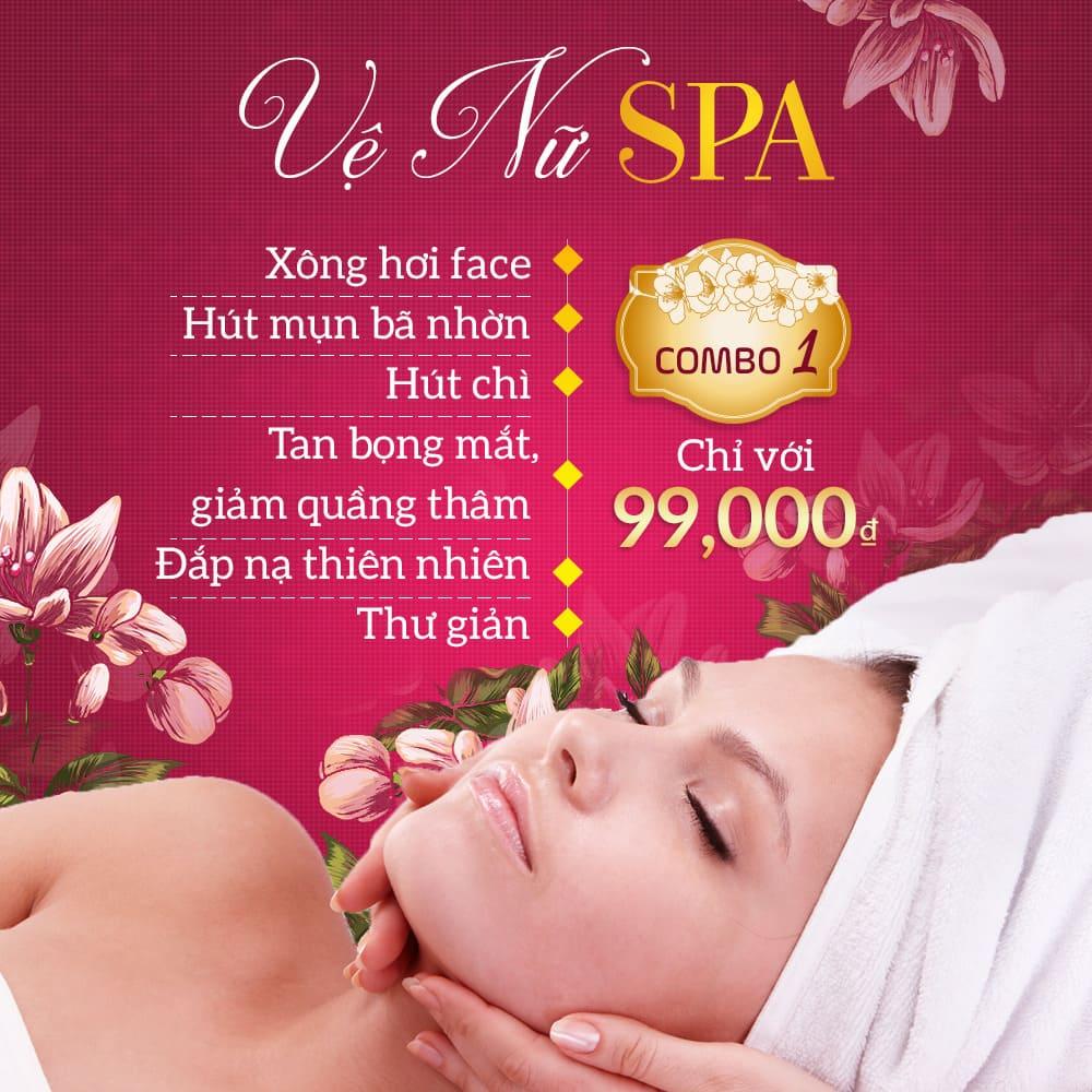 mẫu banner quảng cáo spa