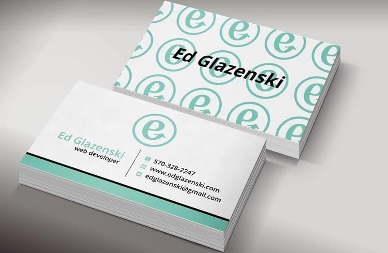 mẫu card visit công ty thiết kế website