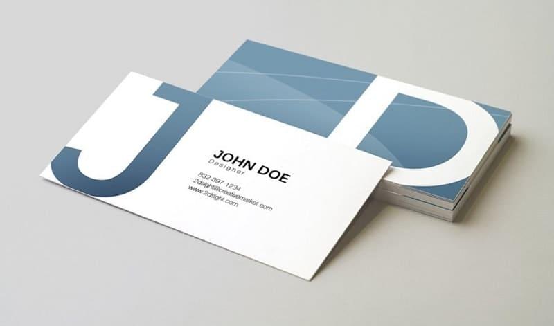 mẫu card visit designer