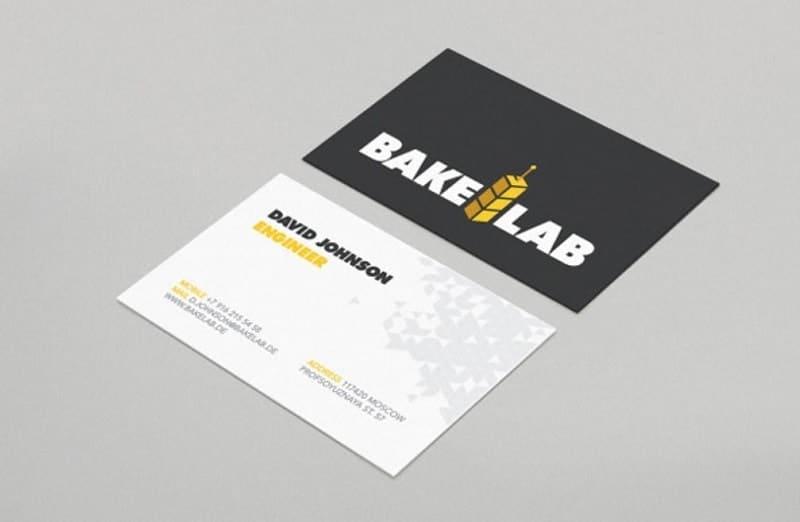mẫu card visit kỹ sư
