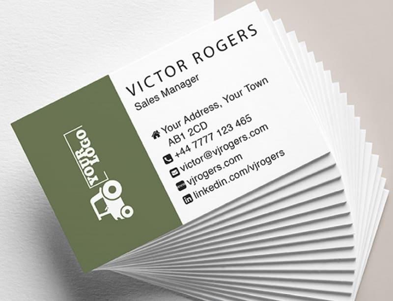 mẫu card visit nhân viên kinh doanh
