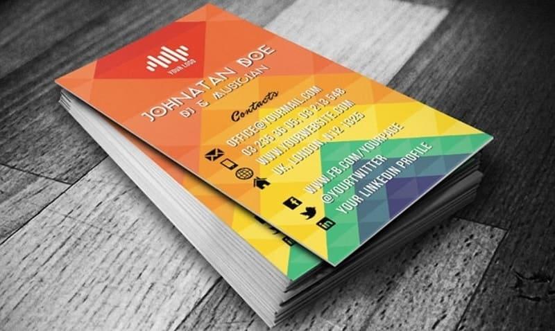 mẫu card visit tư vấn viên