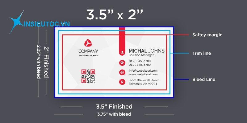 thiết kế card visit