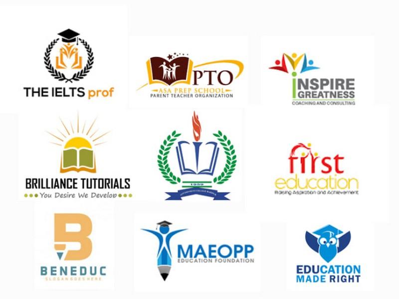 Mẫu thiết kế logo ngành giáo dục