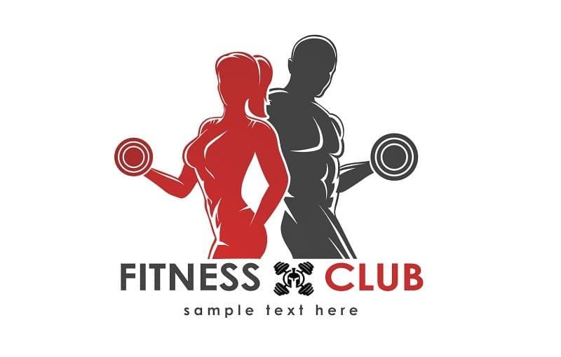 logo phòng gym
