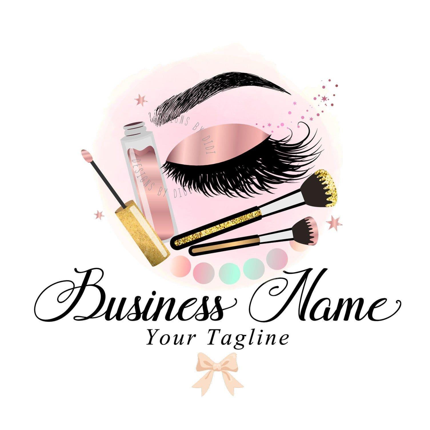 logo sản phẩm trang điểm