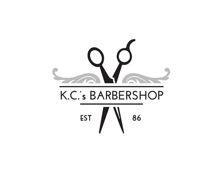 logo tiệm salon tóc